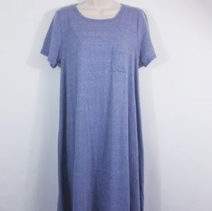 Lularoe blue Carly size Medium